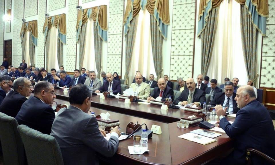 محافظ المثنى يشارك في الاجتماع الذي ترأسه رئيس الوزراء وناقش مشاكل الطاقة الكهربائية وحصص المحافظات