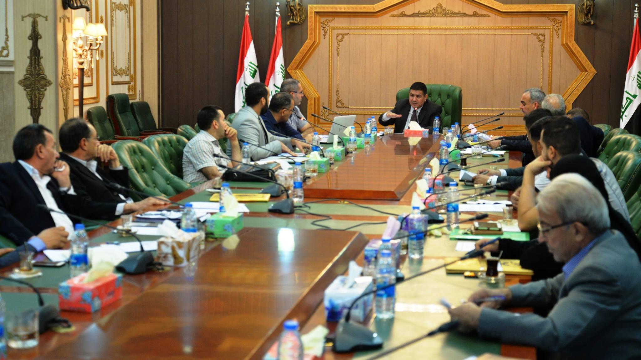 محافظ المثنى يعلن عن المباشرة بإجراءات اعداد خطة التنمية الاستراتيجية للمحافظة للأعوام ( 2018 _2022 )