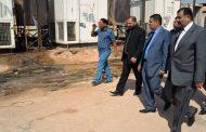 محافظ المثنى يتفقد عمل مولدات الكهرباء في السلمان ويؤكد ان الحكومة المحلية تعمل مع وزارة الكهرباء من اجل المباشرة بإنشاء محطة للكهرباء