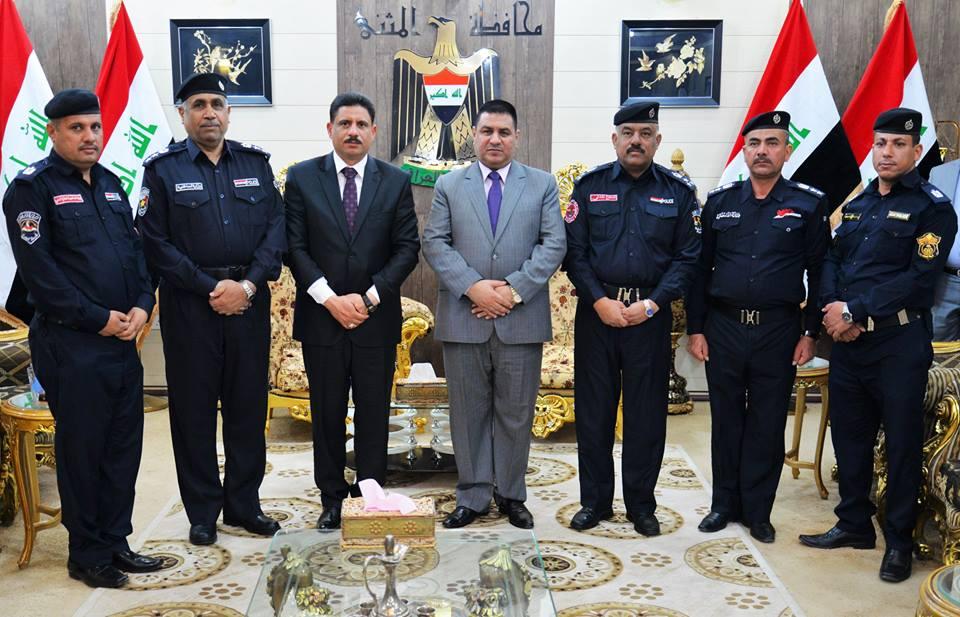 محافظ المثنى يشيد بدور رجال الدفاع المدني في حماية الأرواح والممتلكات العامة والخاصة