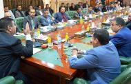 محافظ المثنى يترأس اجتماعا للدوائر الفرعية المنقولة صلاحياتها من الوزارات الى الحكومة المحلية