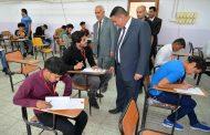 محافظ المثنى يتفقد المراكز الامتحانية لطلبة السادس الاعدادي