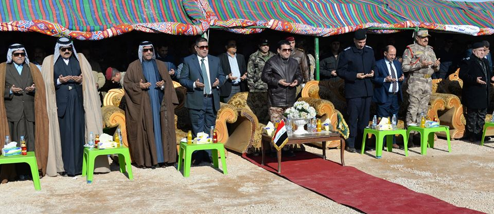 افتتاح معمل الاسفلت التابع لقيادة حدود المنطقة الخامسة والواقع قرب الشريط الحدودي مع السعودية