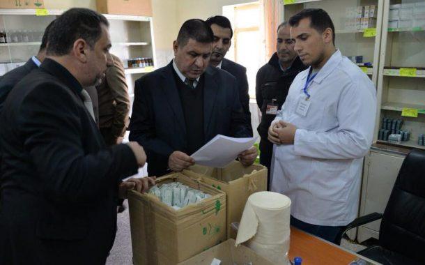 محافظ المثنى يزور مستشفى الرميثة العام للاطلاع على الخدمات الطبية والصحية المقدمة للمواطنين