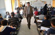 محافظ المثنى يتفقد المراكز الامتحانية في عدد من مدارس المحافظة