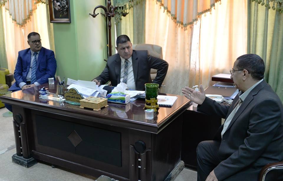 محافظ المثنى يتفقد مستشفى الحسين التعليمي في السماوة للاطلاع على الخدمات الطبية والصحية المقدمة للمواطنين