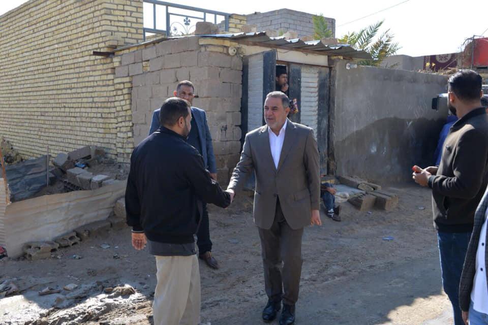 محافظ المثنى يوجه بالمباشرة بحملة خدمية في قرية سيد جبار بالسماوة