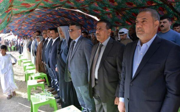 بحضور محافظ المثنى .. عشائر البركات تنظم مهرجان الشهداء السنوي الثالث