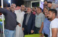 في امسية رمضانية جميلة .. محافظ المثنى يلتقي بعض الاعلاميين في المحافظة