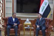 محافظ المثنى يبحث مع وزير الداخلية زيادة الدعم الى القوات الأمنية في المحافظة