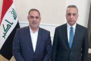محافظ المثنى يلتقي رئيس مجلس الوزراء