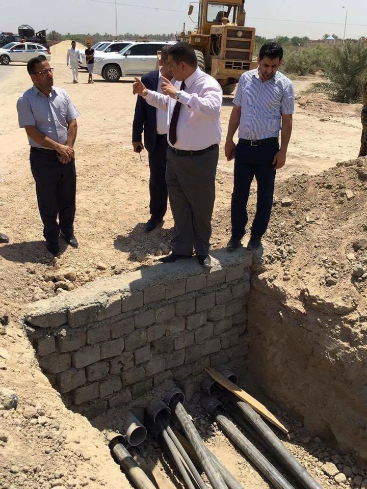 محافظ المثنى ينتقد وزارة الكهرباء لتلكؤ المشاريع التي تنفذها في المحافظة