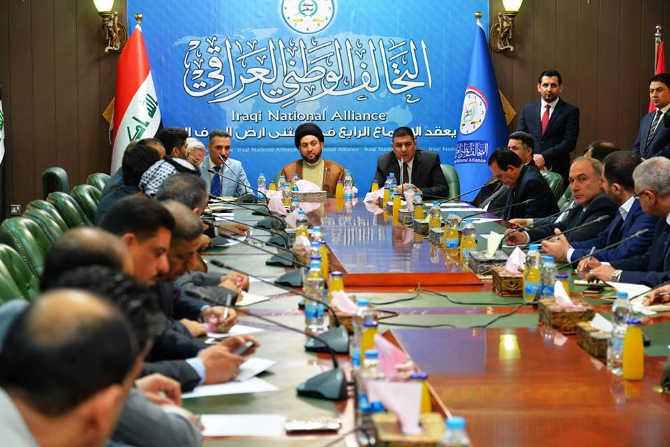 محافظ المثنى يستقبل وفد التحالف الوطني العراقي ويقدم له مطالب المحافظة الخدمية والادارية والامنية لمتابعة تنفيذها مع الوزارات المعنية