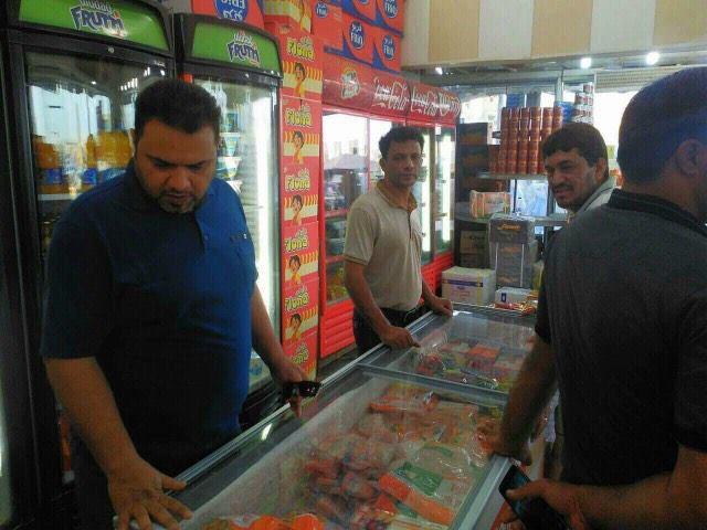 شعبة الرقابة الصحية في قطاع السماوة الأول تتلف كميات من اللحوم غير الصالحة للاستهلاك البشري