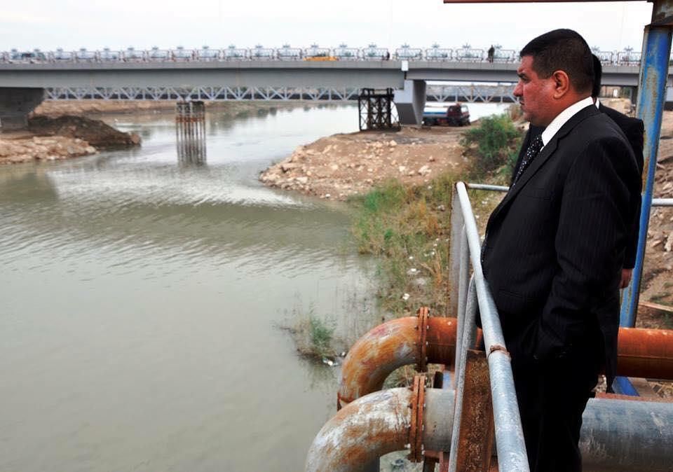 محافظ المثنى يعلن عن حصول موافقة اولية لتمويل مشروع محطة تصفية وتحلية للمياه على نهر الفرات بالسماوة