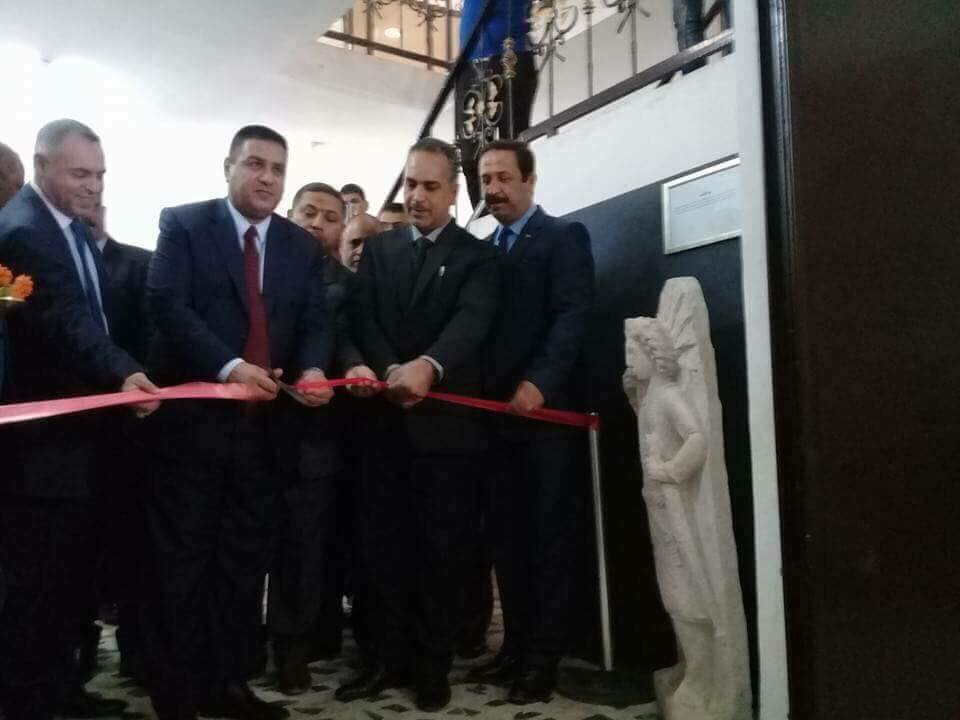 محافظ المثنى يفتتح متحف السماوة الحضاري