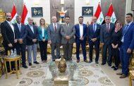 محافظ المثنى يستقبل وفدا من البنك الدولي ووزارة التخطيط العراقية