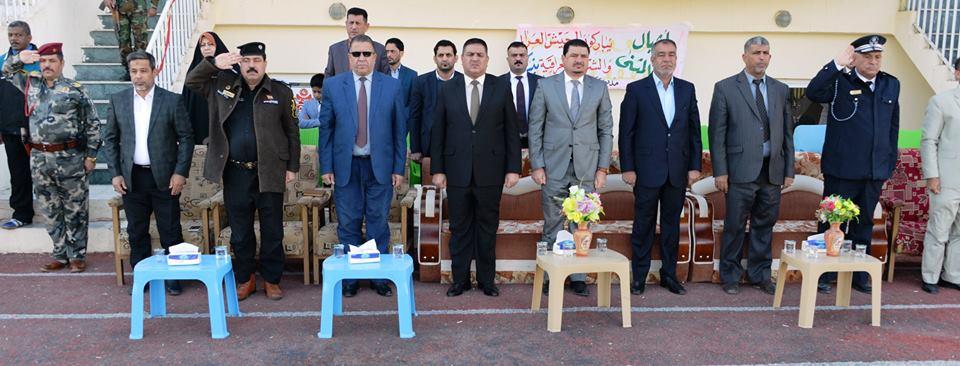 بحضور محافظ المثنى .. مديرية التربية تنظم استعراضاً بمناسبة الذكرى السنوية لتأسيس الجيش العراقي