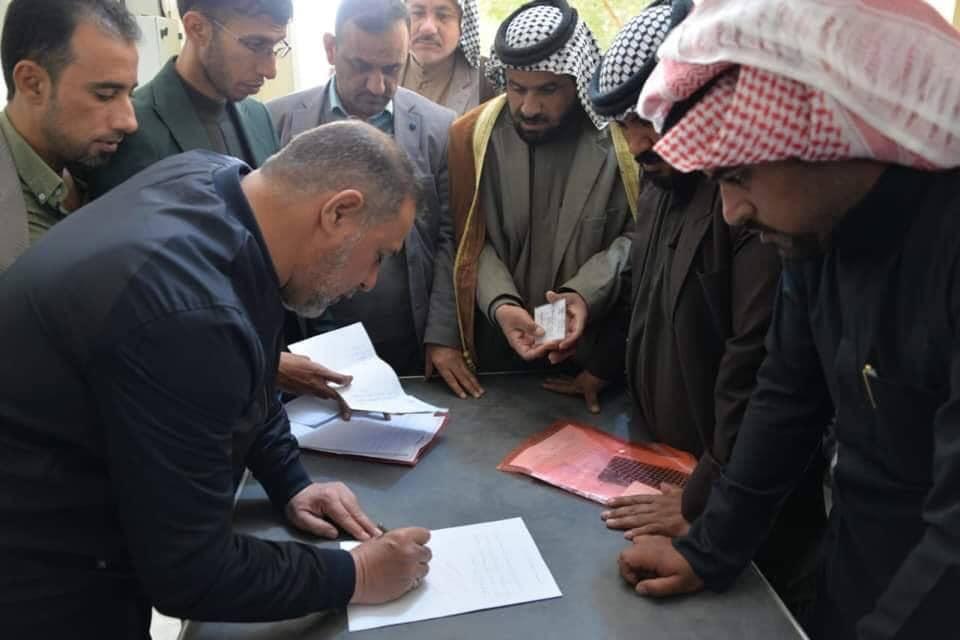 محافظ المثنى يعفي مدير توزيع الكهرباء من منصبه