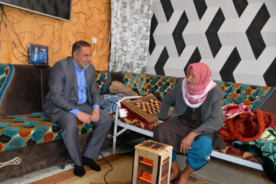 محافظ المثنى يتكفل بعلاج الشاعر الكبير محسن الخياط في خارج العراق