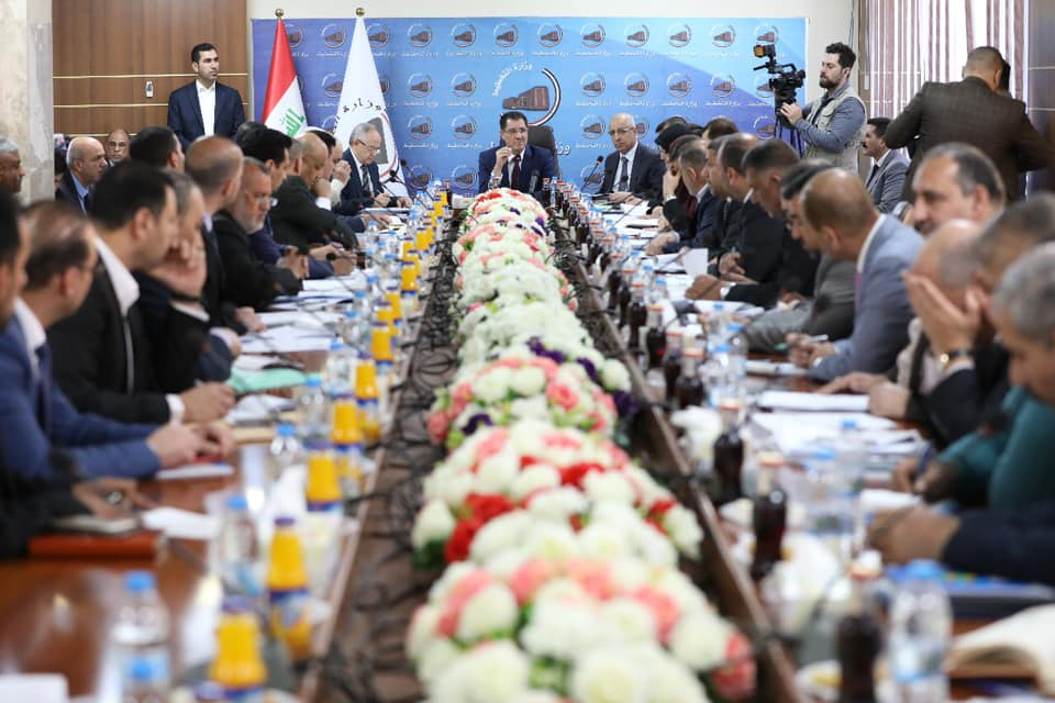 المثنى اول محافظة تقدم خطة مشاريعها لعام ٢٠١٩ الى وزارة التخطيط