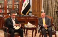 محافظ المثنى يلتقي وزير المالية في العاصمة بغداد
