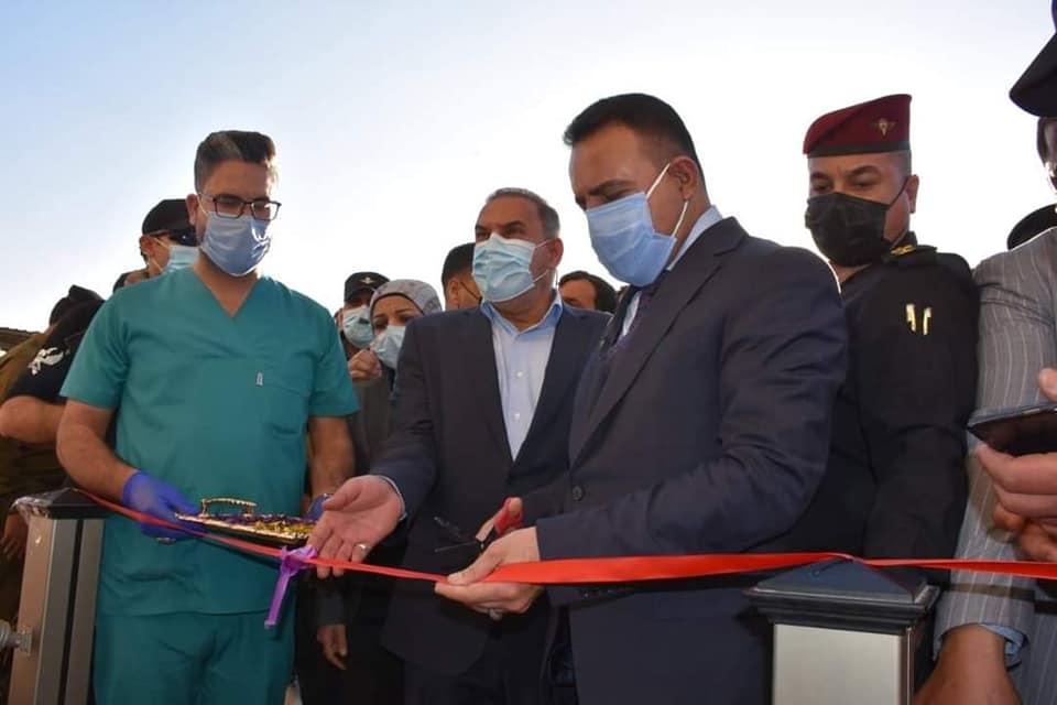 وزير الصحة ومحافظ المثنى يفتتحان مركز معالجة الحروق بالسماوة ضمن مشاريع تنمية الأقاليم
