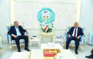 محافظ المثنى يلتقي وكيل وزارة الداخلية لشؤون الشرطة